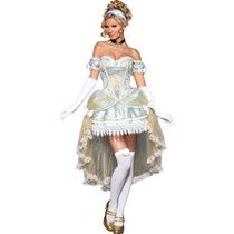 Disfraz De Cenicienta Para Damas, Princesas, Adultos