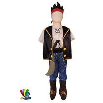 Disfraz Jake Y Los Piratas De Nunca Jamás Halloween