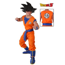 Disfraz Goku Halloween Traje Adulto Hombre