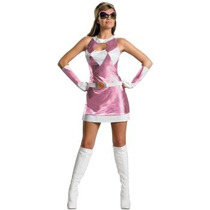 Disfraz De Power Ranger Rosa Para Damas, Envio Gratis