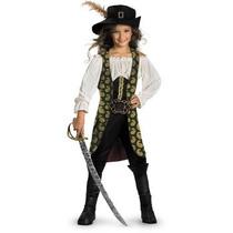 Disfraz Angelica Piratas Del Caribe Para Niñas, Envio Gratis