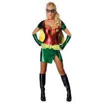 Disfraz De Robin De Batman Para Damas, Envio Gratis
