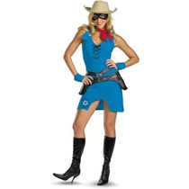 Disfraz De Llanero Solitario Para Damas, Vaquera, Cowboy