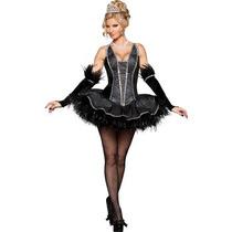 Disfraz De Cisne Negro Para Damas, Envio Gratis