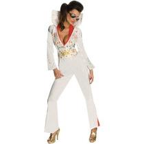 Disfraz De Elvis Para Damas, Envio Gratis