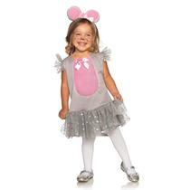 Disfraz De Raton Para Niña Talla 2 Legavenue Super Lindo