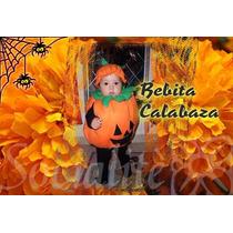 Disfraz De Calabaza Bebés Unisex Talla 0 Y 1-3