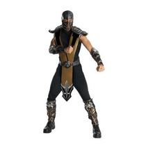 Disfraz De Scorpion Mortal Kombat, Ninja Para Adultos
