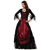 Disfraz Vampiro Adulto Mujer Dracula Halloween Sexy