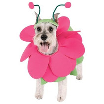 Disfraz De Flor Rosa Para Perros, Mascotas, Envio Gratis