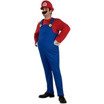 Disfraz De Mario Bros, Para Adultos, Envio Gratis