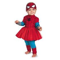 Disfraz De Spiderman Spidergirl Para Bebes, Envio Gratis