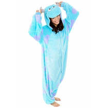 Disfraz / Pijama / Mameluco Sulley, Monster Inc Para Adultos