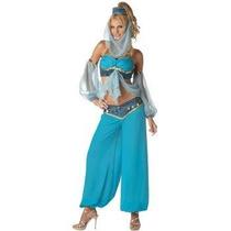 Disfraz Harem Adulto Mujer Arabe Halloween Sexy Bella Genio