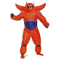 Red Baymax Inflable Traje Adulto Disfraz De Hombre