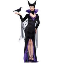 Disfraz De Bruja Malefica Para Damas, Disney, Envio Gratis