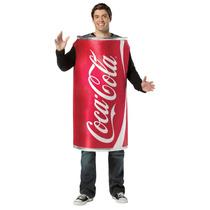 Disfraz De Refresco Coca Cola Lata Para Fiestas Y Reuniones