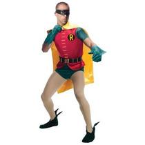 Disfraz De Robin Clasico, Batman Para Adultos Envio Gratis
