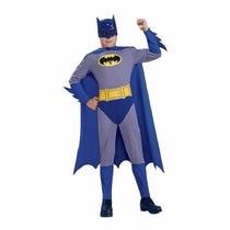 Disfraz De Batman The Brave Nuevo Original Talla 12-14