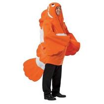 Disfraz De Nemo, Pez Payaso Para Adultos, Envio Gratis
