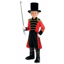 Disfraz Niños Domador De Leones Circo Traje Clasico Mediano