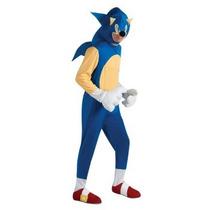 Disfraz De Sonic Para Adultos, Envio Gratis