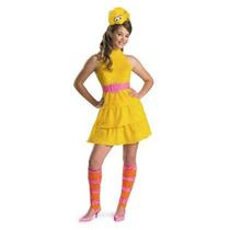 Disfraz De Abelardo Plaza Sesamo Para Niñas Y Adolescentes
