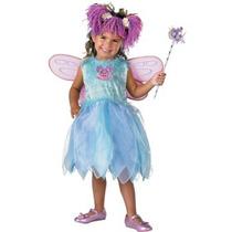 Disfraz De Abby Cadabby Plaza Sesamo Para Niñas Y Bebes