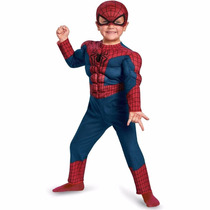 Disfraz De Spiderman, Hombre Araña Para Niños, Envio Gratis