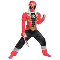 Disfraz Power Ranger Super Megaforce Rojo 7/8 Años Entrega I