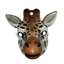 Vestuario Co Animal Mask-giraffe Costume Rubie