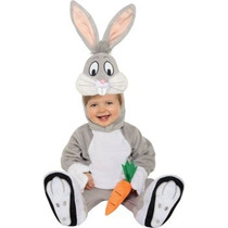 Disfraz De Bugs Bunny Looney Tunes Para Bebes, Envio Gratis