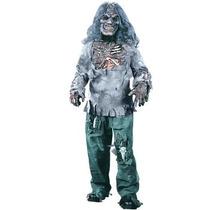 Disfraz De Esqueleto Zombie Para Niños Y Adolescentes