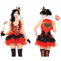 Disfraz Reina De Corazones Leg Avenue Halloween