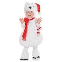 Disfraz De Oso Polar Navidad Para Bebes Y Niños Envio Gratis