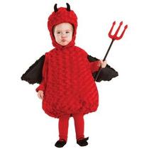 Disfraz De Diablo, Diablito Para Bebes Y Niños, Envio Gratis