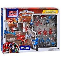 Power Rangers Súper Megaforce Set # 89600 De Ultimate Battle