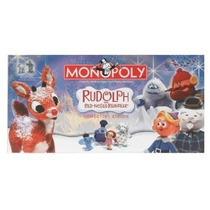Rodolfo, El Reno De La Nariz Roja Monopoly