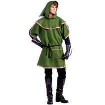 Disfraz De Medieval, Renacimiento, Robin Hood Para Adultos