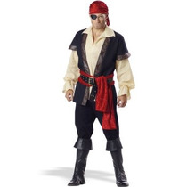 Disfraz De Pirata Para Adultos, Envio Gratis