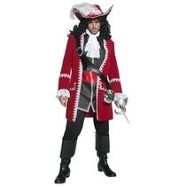 Disfraz De Pirata, Hook, Capitan Para Adultos, Envio Gratis