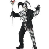 Disfraz De Payaso, Arlequin, Joker Para Adultos Envio Gratis