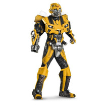 Disfraz Adulto Transformers Bumblebee 3d Version Lujo