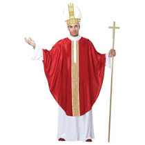Disfraz De Papa, Sacerdote, Religioso Para Adultos