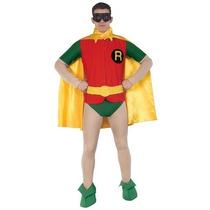 Disfraz De Robin, Batman Para Adultos, Envio Gratis