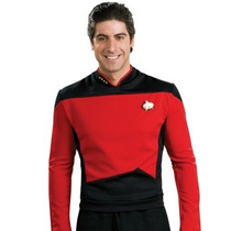 Disfraz / Camisa De Star Trek Roja Para Adultos Envio Gratis