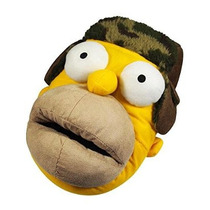 Los Simpson Hombres Homer Simpson Plush Slipper