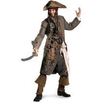 Disfraz De Jack Sparrow Piratas Del Caribe, Para Adultos