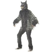 Disfraz De Hombre Lobo Para Adultos, Envio Gratis