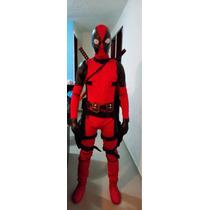 Disfraz Deadpool Original Shows Profesional Con Accesorios